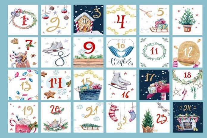 9 modèles de calendriers de l'avent à fabriquer