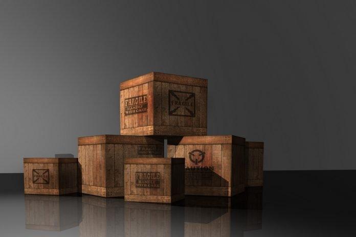 Caisse en bois grande dimension adaptable à tout objet